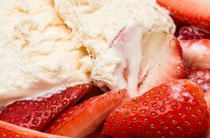Frische Milch und Früchte: Gesundes aus der Eisdiele