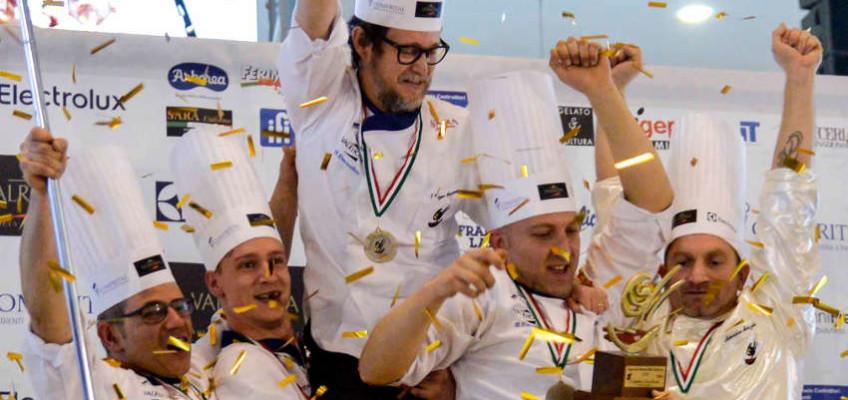 SIGEP 2016: Italien gewinnt die 7. Auflage des Gelato World Cup